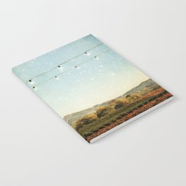 Starlit Vineyard Notebook