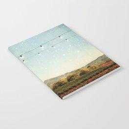 Starlit Vineyard Notebook