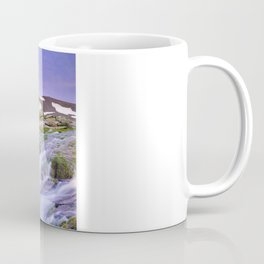 mountain river at 3000 meters high  Coffee Mug