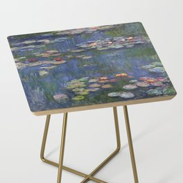 Water Lilies - Claude Monet Side Table