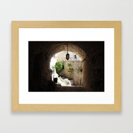 Searching for the Light Framed Art Print