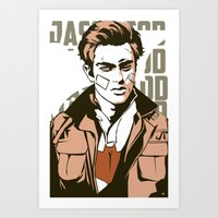 jay fleck Art Prints featuring Jay by Shop 5
