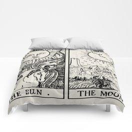 Moon and Sun Comforters