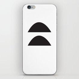 Wonky Arches | Black + White iPhone Skin