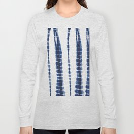 Indigo Blue Tie Dye Delight Long Sleeve T-shirt