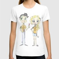 percy jackson T-shirts featuring Percy Jackson and Annabeth Chase by Trillatia