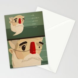 Fake nose Stationery Cards