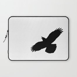 Raven silhouette Laptop Sleeve