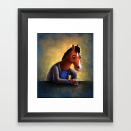 Never let anyone tell you you're pasture prime Framed Art Print
