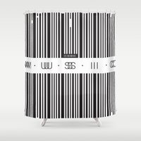 code Shower Curtains featuring Music Code by Sitchko Igor