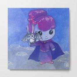 Moonkhin Iridum Violet Metal Print