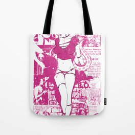 Pin-up hottie Tote Bag