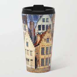 House, Bruges, Belgium Travel Mug