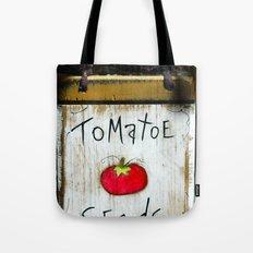 Tomatoe Seeds Tote Bag