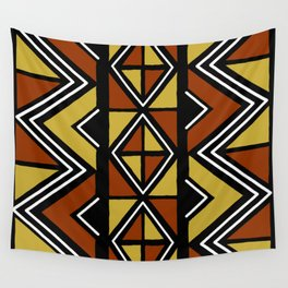Big mud cloth tiles Wall Tapestry