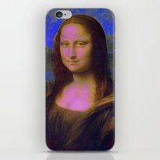 Mona Lisa's Haze (blue) iPhone & iPod Skin