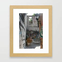 On the Way Up, Part 2 Framed Art Print