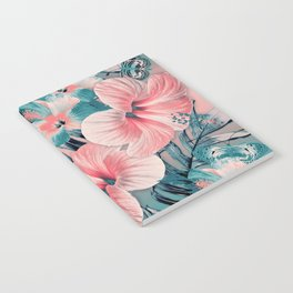 Vintage Jade Coral Aloha Notebook