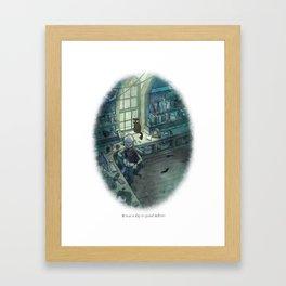 Behind You 23 Framed Art Print