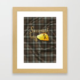 Sassenach (Outlander) Framed Art Print