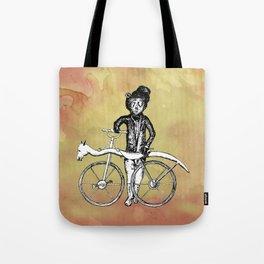 Bear's Bike Tote Bag