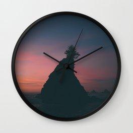 California Sunset Wall Clock