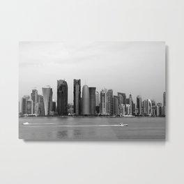 Doha skyline Metal Print