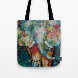 Flower Ellie Tote Bag