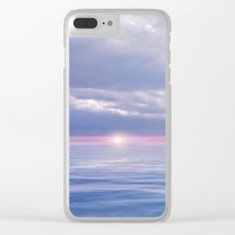 Pastel vibes 67 Clear iPhone Case