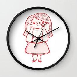 Girl Feelings #1 Wall Clock
