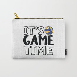 It's Game Time, Volleyball Carry-All Pouch