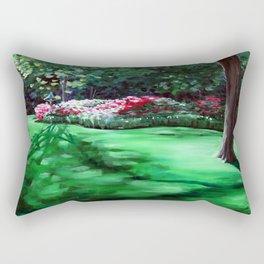 Azalea Vista, Afternoon Rectangular Pillow