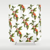 lantern Shower Curtains featuring Lantern by Chloe Frederik