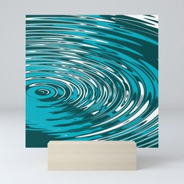 Digital Ripple Mini Art Print