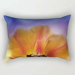 tulips in spring -2- Rectangular Pillow