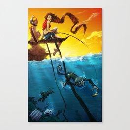 Sea Monkeys Canvas Print