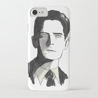 twin peaks iPhone & iPod Cases featuring twin peaks by sharon