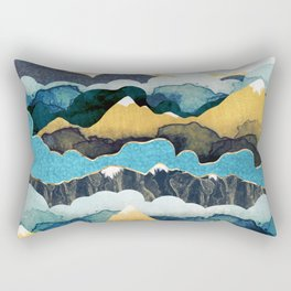 Cloud Peaks Rectangular Pillow
