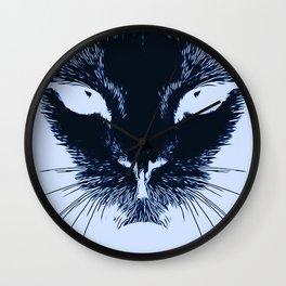 Alien Cat Wall Clock