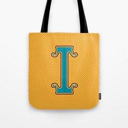 Alphabet Drop Caps Series- I Tote Bag