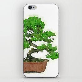 Japanese Bonsai Tree iPhone Skin