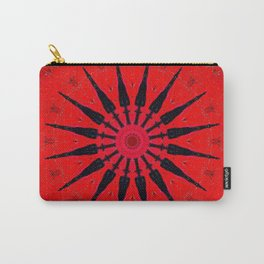 Red Star Decorative Mandala Carry-All Pouch