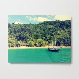 Long Island - Paraty Metal Print