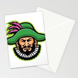 Minstrel Mascot Stationery Cards