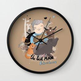 The Last Man in Fukushima Wall Clock