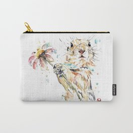 Gopher Colorful Watercolor Painting Carry-All Pouch