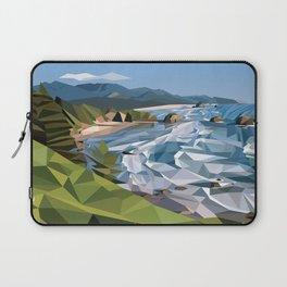 Geometric Cannon Beach Laptop Sleeve