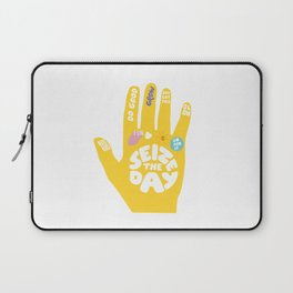 Seize the day – Sunshine hand Laptop Sleeve