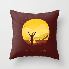 Solaire (Dark Souls) Throw Pillow