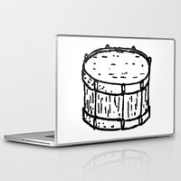 drum Laptop & iPad Skins featuring drum by Isaac Collmer